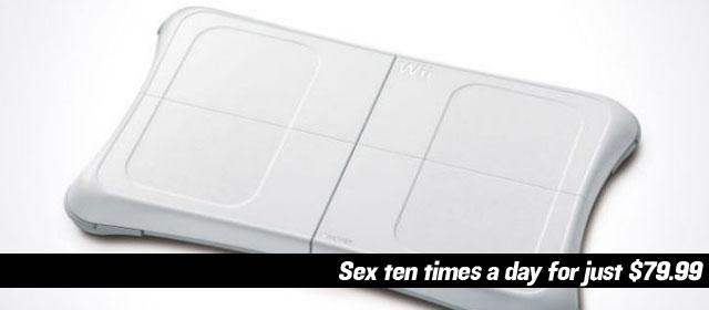 Wii Makes Woman Sex Addict