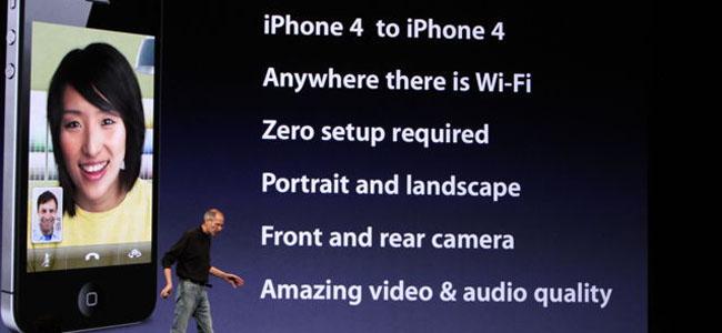 facetime iphone 4
