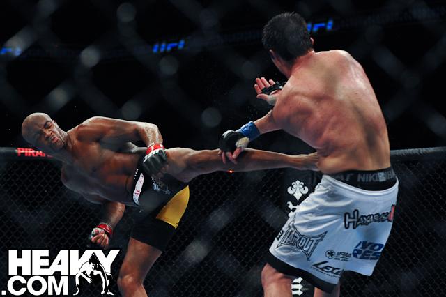Anderson Silva UFC 117