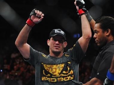 UFC welterweight Demian Maia