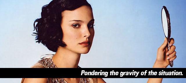 Natalie Portman Gravity