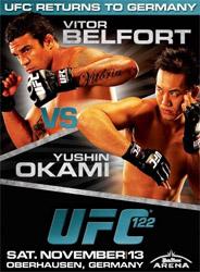 UFC 122 poster