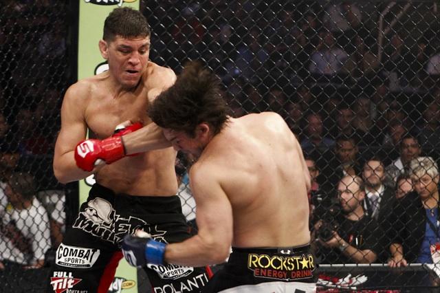 Nick Diaz KJ Noons Punch Strikeforce