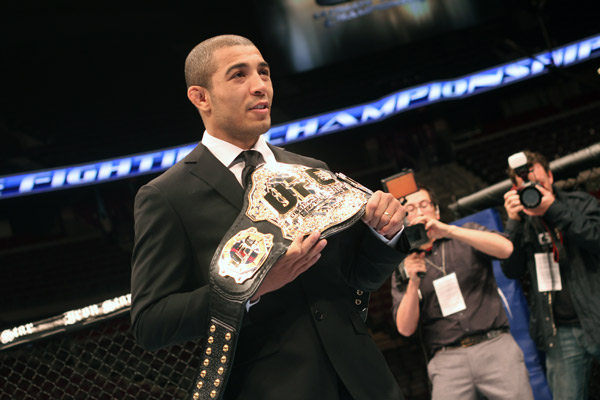 at UFC 123