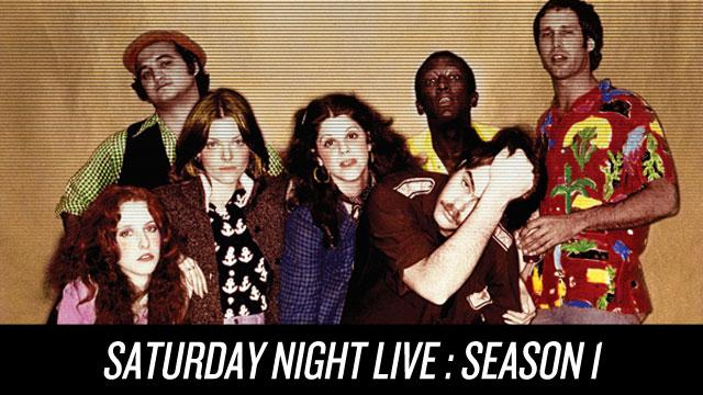 Watch Saturday Night Live: Season 1 on Netflix Instant