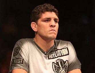 Strikeforce welterweight champion Nick Diaz