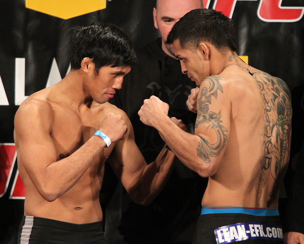 Nam Phan and Leonard Garcia at TUF 12 Finale