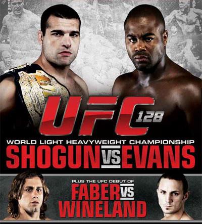 UFC 128 Official Poster