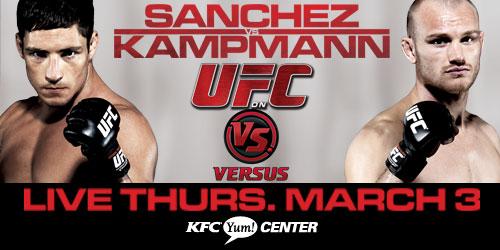 UFC on Versus 3 Poster