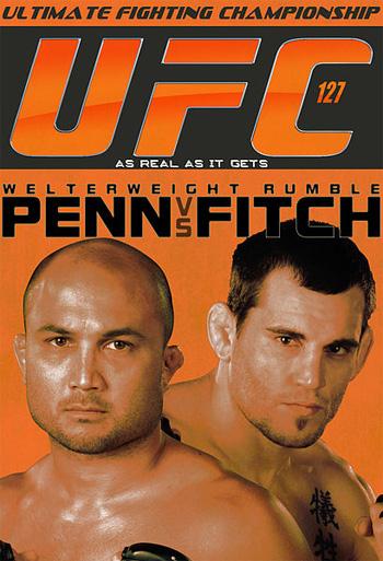 UFC 127 event poster