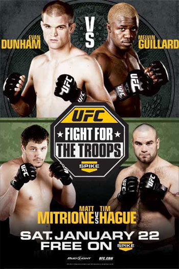 UFC Fight for the Troops 2 poster