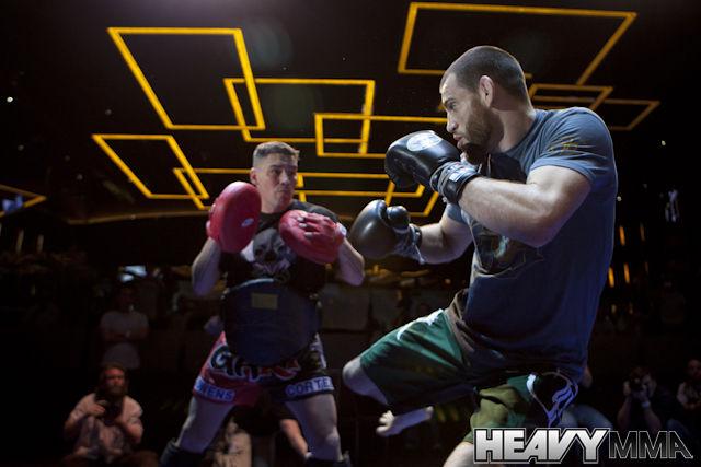 Jon Fitch at UFC 127 Open Workouts