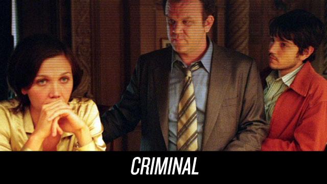 Watch Criminal on Netflix Instant