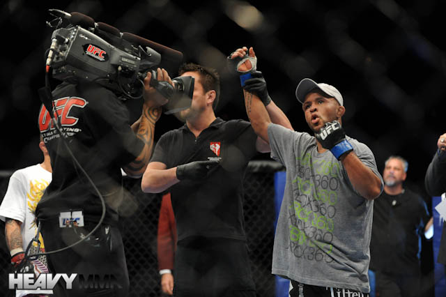 Demetrious Johnson at UFC 126