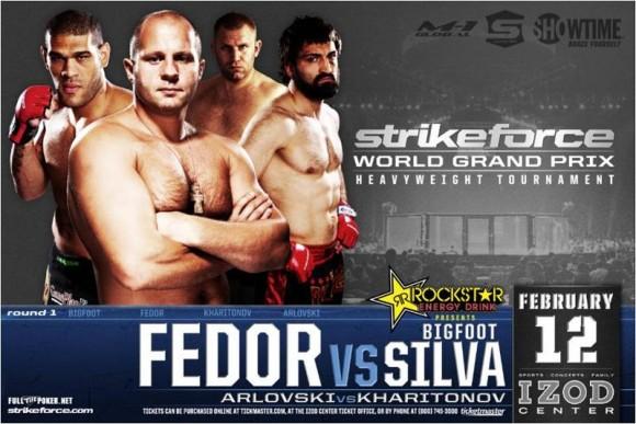 Strikeforce: Fedor vs. Silva event poster
