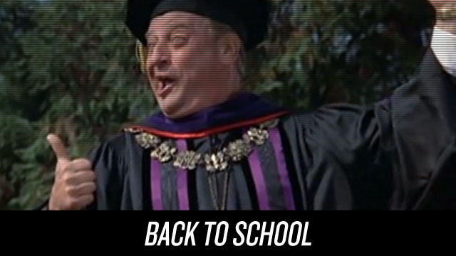 Watch Back to School on Netflix Instant