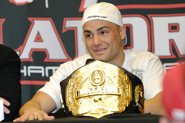 Eddie Alvarez at the Bellator 33 post-fight press conference