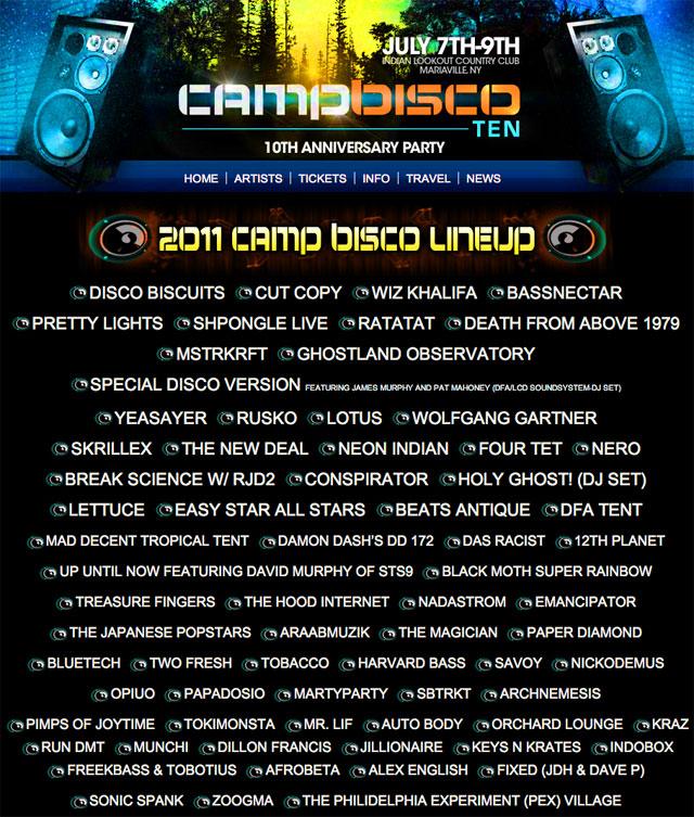 Camp Bisco 2011