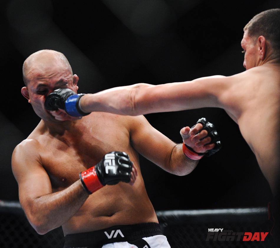 BJ Penn vs. Nick Diaz