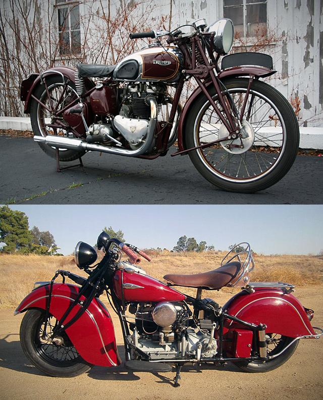 Steve McQueen Motorcycles