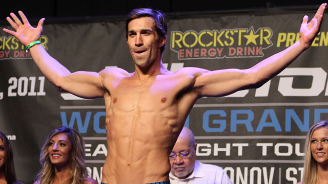 Strikeforce Middleweight Champion Luke Rockhold