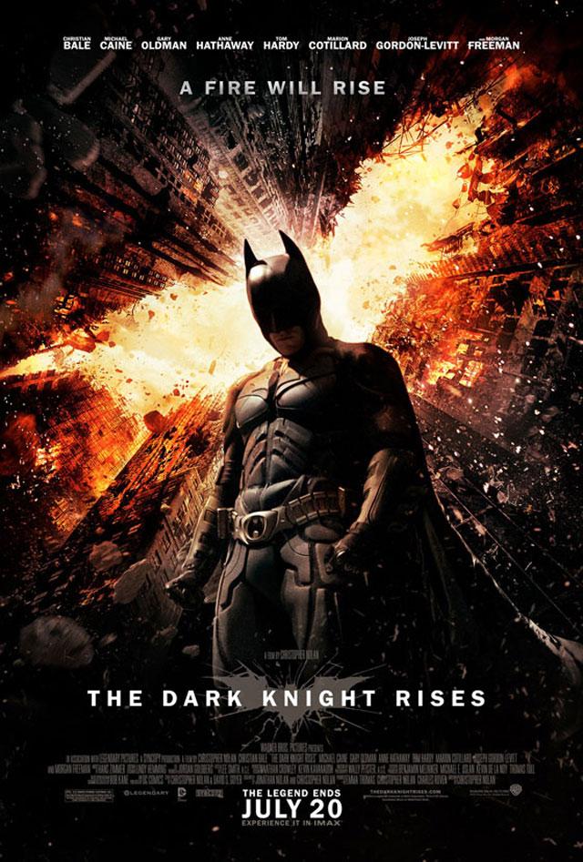 The Dark Knight Rises, A Fire Will Rise