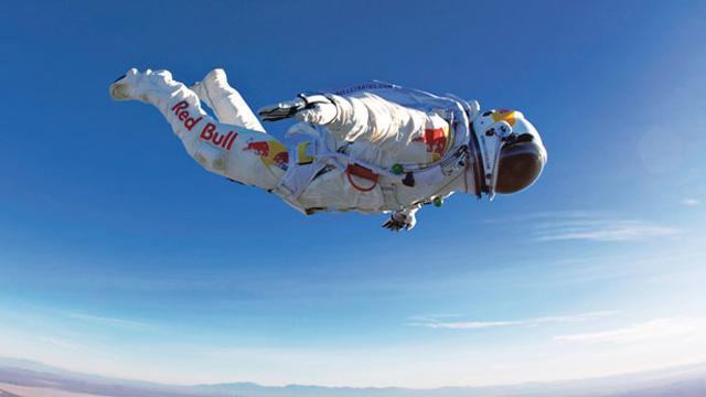 Felix Baumgartner 90,000 Feet