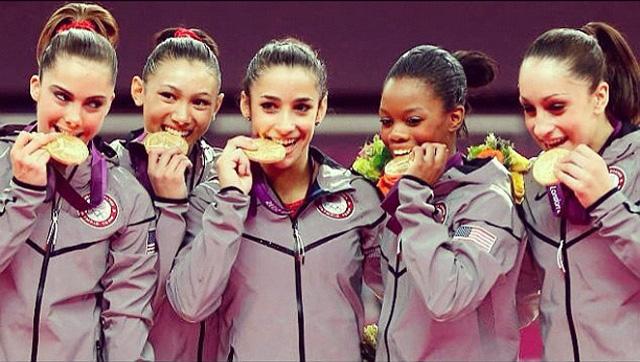2012 Women's Gymnastics Olympic Gold Medal