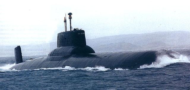 akula russian nuclear sub submarine gulf of mexico