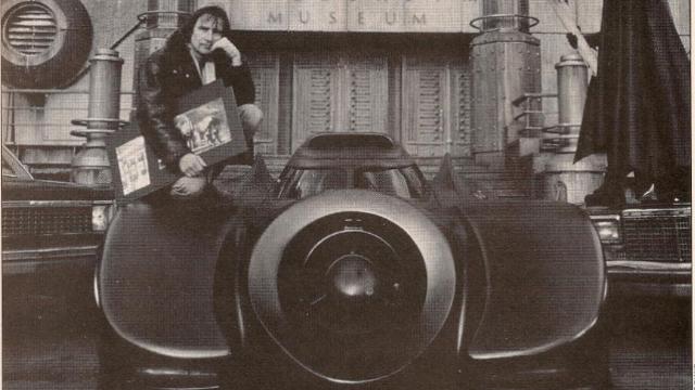 Anton Furst and the Batmobile