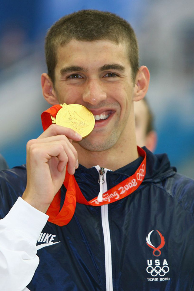 Olympics beijing 2008 200M butterfly Michael Phelps gold