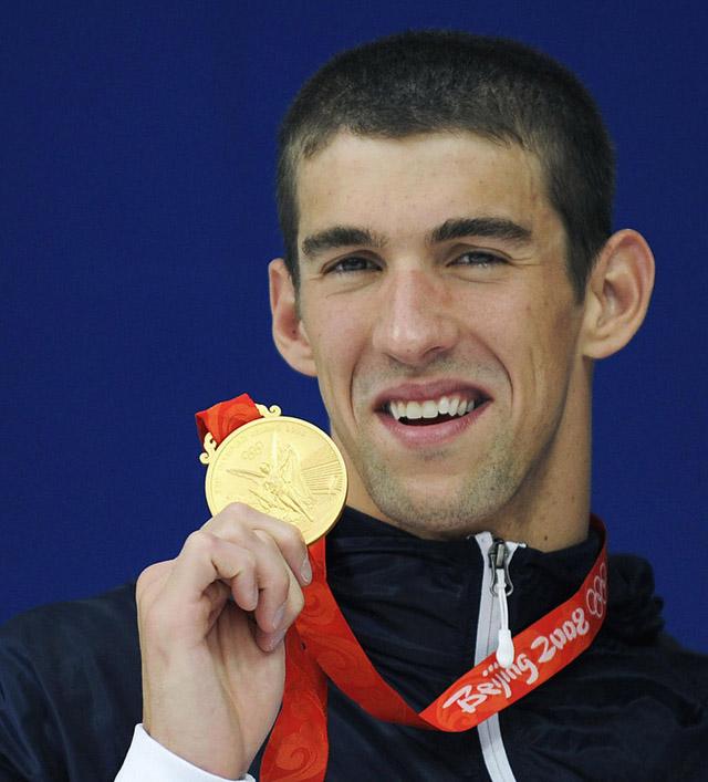 beijing 2008 olympics 4X200 freestyle relay Michael Phelps