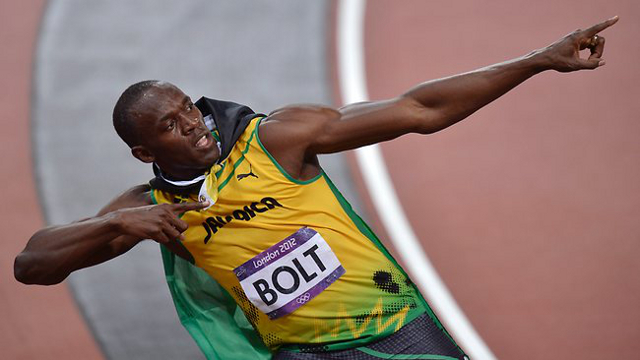 Usain Bolt Olympic Victory