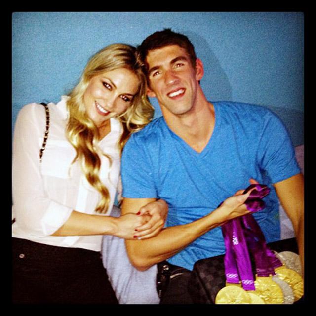 Michael Phelps Megan Rossee London Olympics