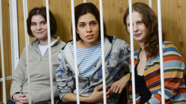 pussy riot verdict russian punk band judge