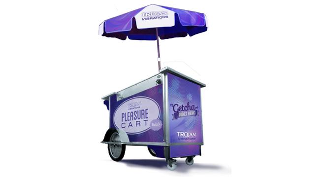 Trojan Pleasure Cart