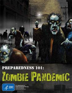 The CDC's Zombie Pandemic comic