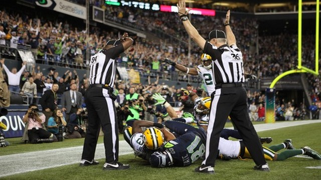 Greenbay Packers and Seattle Seahawks Dispute