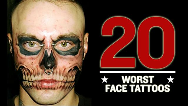 insane awesome face tattoos