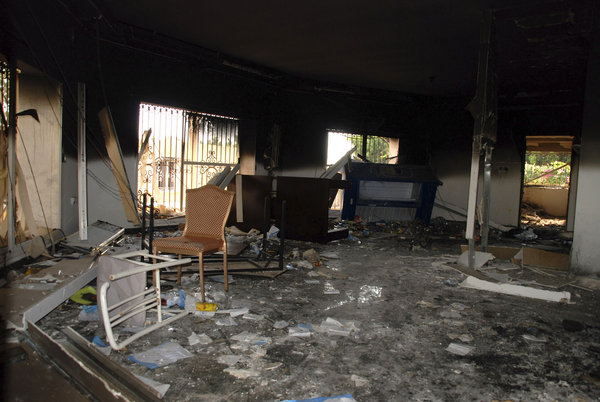 Aftermath of the attack (Getty Images)