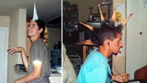 Asher Stonesifer, spikes, hair, spiked hair, student