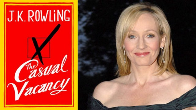 The Casual Vacancy by JK Rowling Hits Bookstores Today