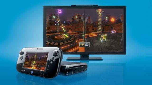 Wii U 3D TV