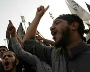 Terrorists, Libya, headquarters, Al-Qaida, raids, protesters, Benghazi