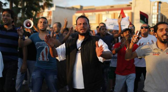Libya, protesters, ambassador, militia, al-Qaida