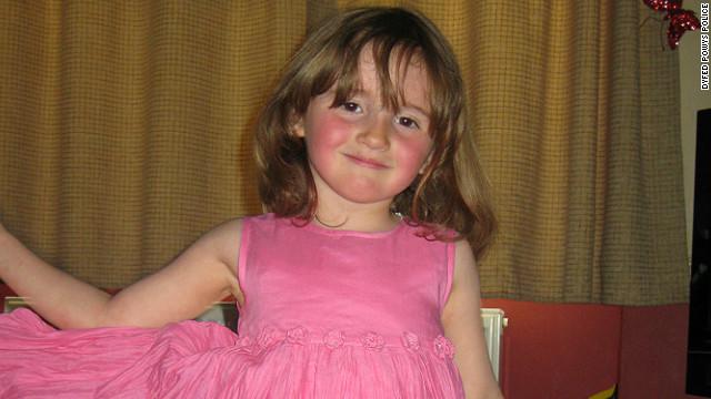 April Jones, murdered 5-year-old