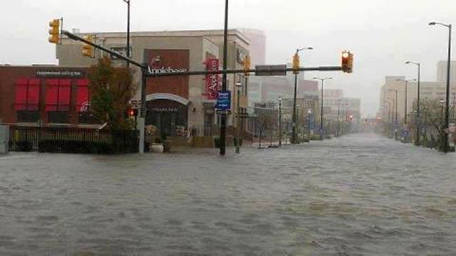 atlantic city hurricane sandy NJ