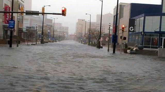 atlantic city flood hurricane sandy NJ