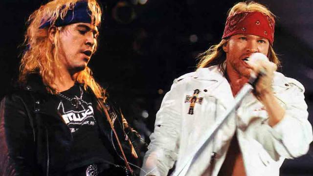 Axl Rose, Jimmy Kimmel, live interview, Guns N' Roses