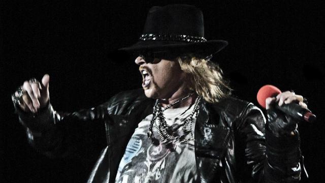Axl Rose, Guns N' Roses, Jimmy Kimmel, Interview